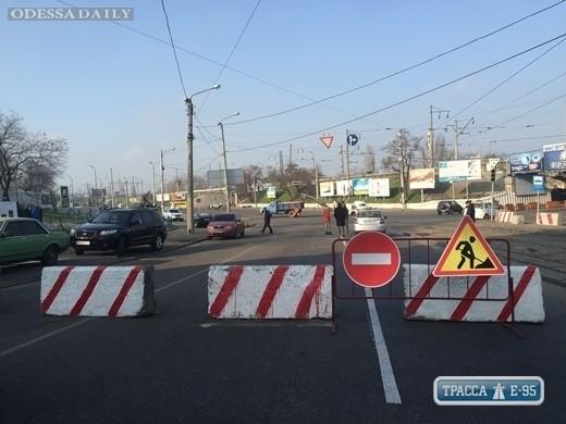Движение в районе Пересыпских мостов в Одессе будет ограничено до лета