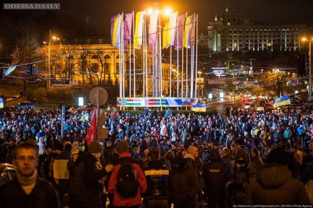 На запрет палаток на Евромайдане в Киеве активисты подали апелляцию