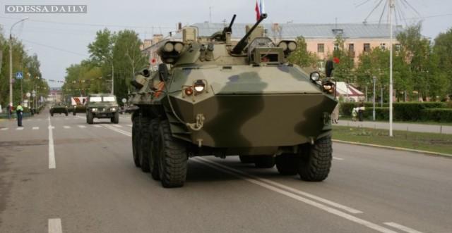 ФСБ отказывается признать вторжение БТР в Украину