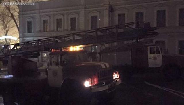 В Одессе вспыхнул масштабный пожар в волонтерском центре