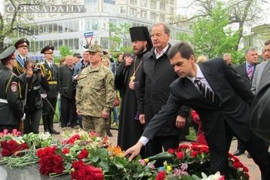В Одессе почтили память погибших ликвидаторов аварии на Чернобыльской АЭС