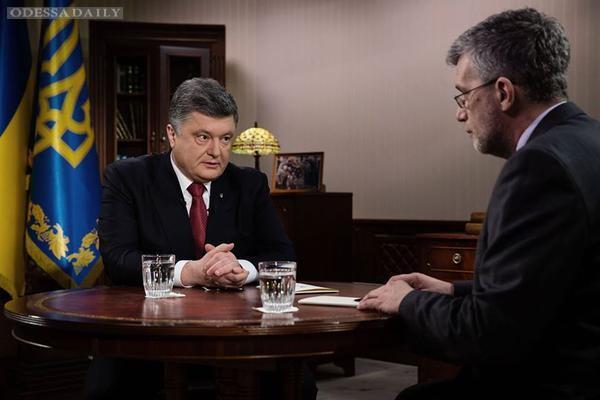 Интервью Петра Порошенко телеканалу ICTV: полная видеоверсия