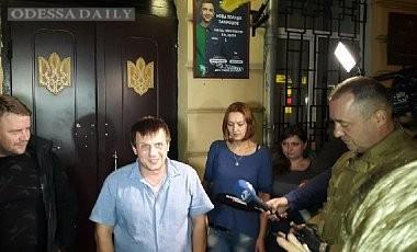Лидера Одесского Автомайдана выпустили из СИЗО