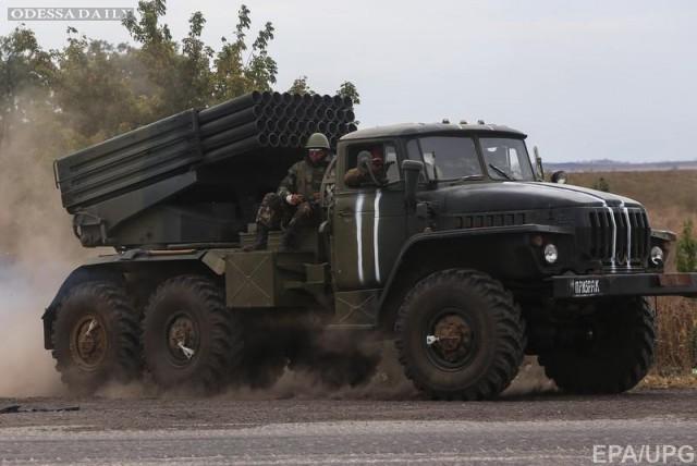 Ночью боевики обстреляли позиции сил АТО из Градов