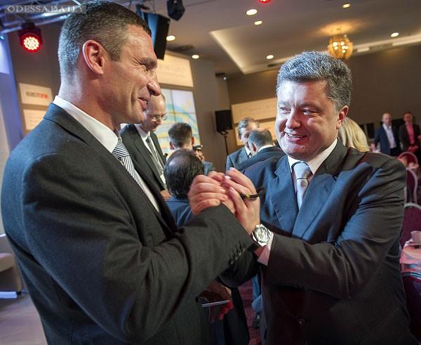 Выборы: Кличко поддержал Порошенко и не пойдет в президенты