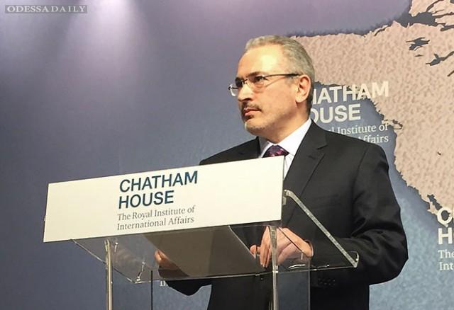 Михаил Ходорковский: «Путин — не супермен, и он уже точно не войдет в историю как герой»