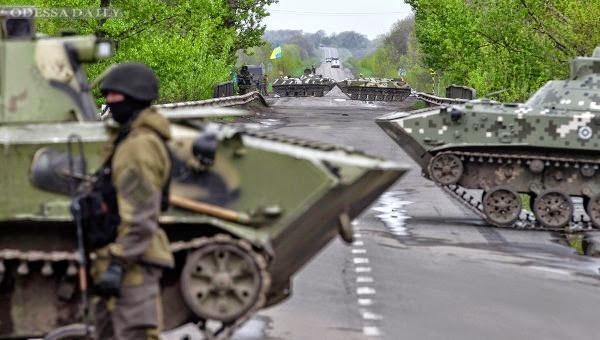 Вторжение в Украину: последние события в Донбассе и Крыму - 19