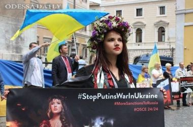 В разных странах мира началась акция Стоп, Путин! Стоп, война