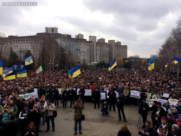 В Кривой Рог пришел Майдан