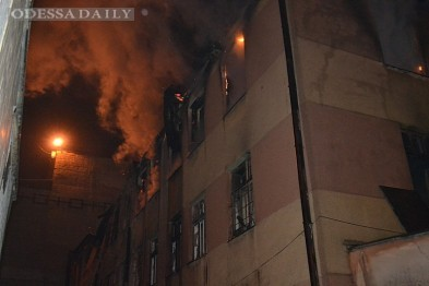 Спасатели рассказали подробности резонансного пожара в Одессе