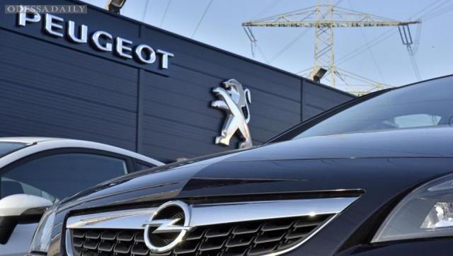 Французская Peugeot поглотит немецкого автопроизводителя Opel