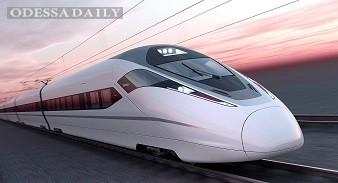 Китай выведет на рынок новый поезд со скоростью движения 400 км/ч