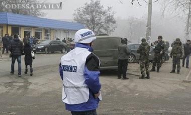Донецкие боевики угрожали расправой наблюдателям ОБСЕ - отчет