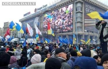 Более 70% митингующих Евромайдана готовы стоять до победного конца