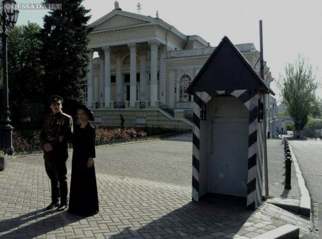 На Думской и Театральной снимают сериал об Одессе времен Гражданской войны — с Котовским и Мишкой Япончиком