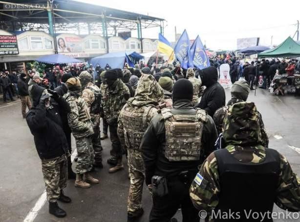 Рынок 7 километр в Одессе оцеплен полицией и Нацгвардией – СМИ