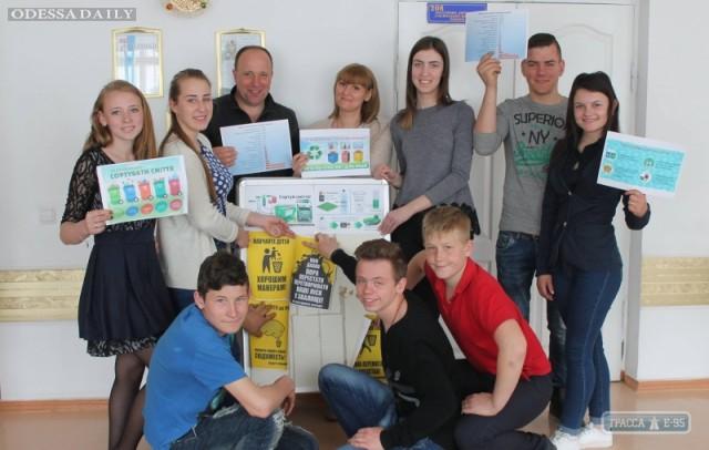 Волонтер из США учит жителей Березовки правильно избавляться от мусора