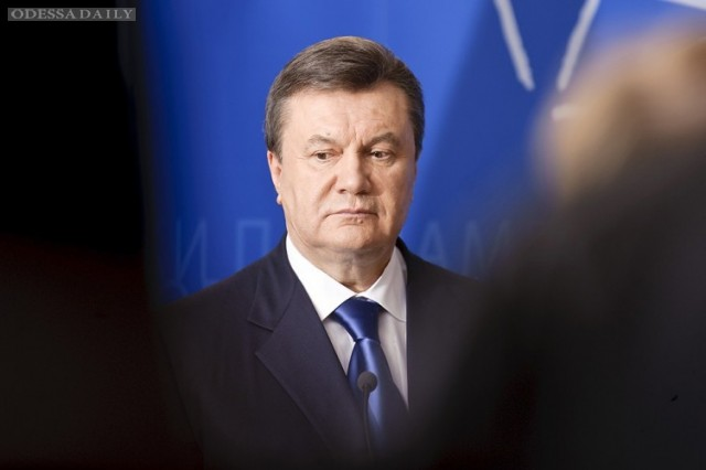 Суд не разрешил засекретить местонахождение Януковича
