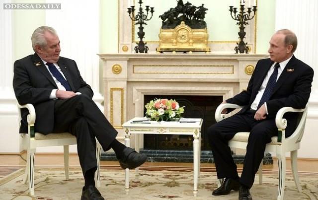 Путин готов восстановить отношения с Европой