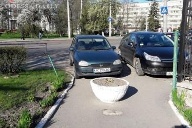 В центре Одессы оригинально предупредили автохамов