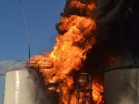 Пожар на нефтебазе под Киевом унес жизни 4 человек, еще 12 пострадали - ГСЧС
