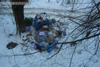 Одесские улицы завалили мусором: отходы не вывозят
