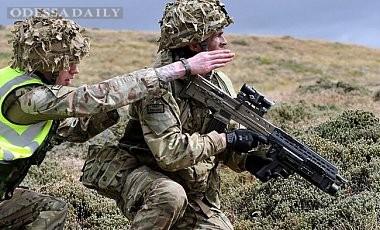 Армейские тренеры Британии начали готовить украинских военных