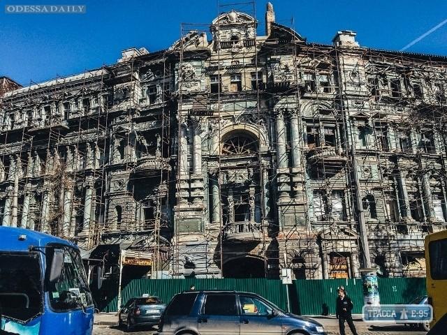 Консервация знаменитого дома Руссова в Одессе под вопросом