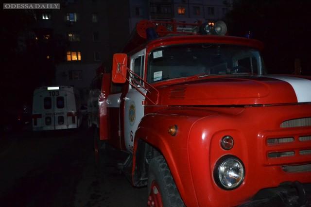 Ликвидирован пожар в мусоросборнике