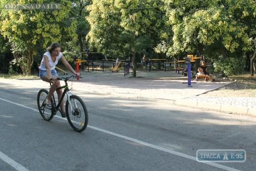 Трасса здоровья будет перекрыта для движения велосипедистов и роллеров