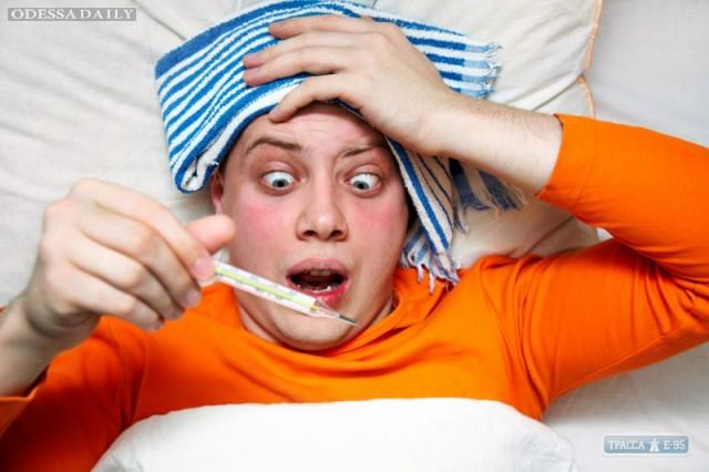 Медики прогнозируют мощную волну гриппа в Одессе в конце января
