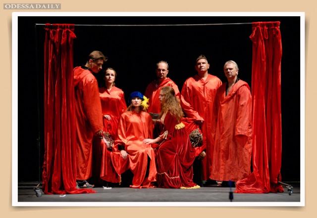 31 августа в помещении Одесского русского театра - комедия в стиле Возрождения:«Декамерон»