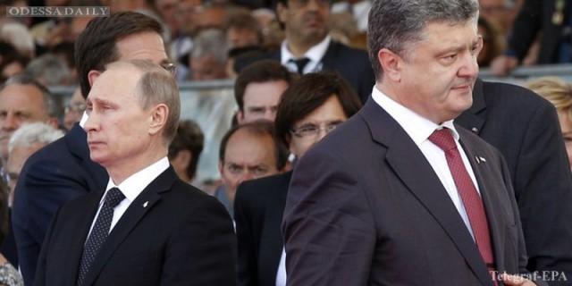 Позитивно или сложно: Путин и Порошенко разошлись в оценках встречи в Минске