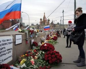 В Москве планируют озеленить место убийства Немцова