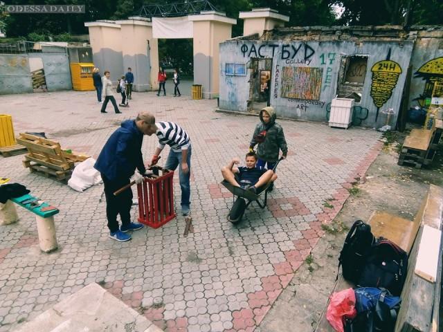 Одесские активисты: Приходите благоустроить Горсад – каждое воскресенье с 12.00 и до вечера