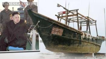 Японцы нашли в море 12 дрейфующих судов с телами