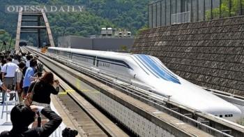 Япония реанимировала проект поезда на магнитной подушке со скоростью 500 км/ч