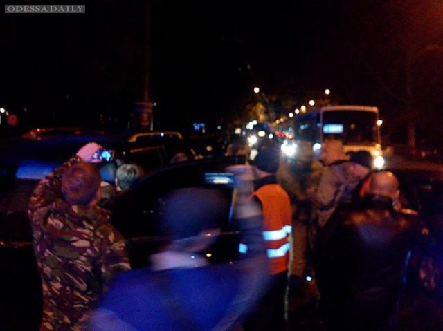 За рулем Лексуса, устроившего ДТП возле Одесской ОГА оказался Игорь Смирнов, соратник Левочкина и Бойко