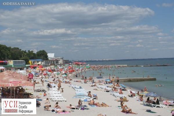 На одесском пляже умер мужчина