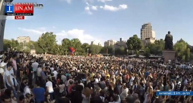 Тарифный Майдан в Армении: протесты охватили пять городов