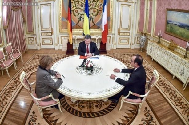 Путин потребовал автономию для Донбасса и федерализацию Украины