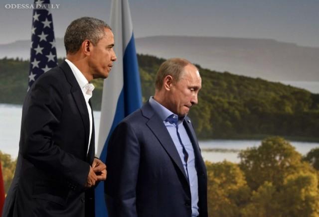 Обама и Путин договорились о переговорах по Сирии на уровне представителей оборонных ведомств