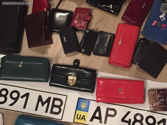 В Одессе задержали этническую группировку: горожан просят опознать украденные вещи