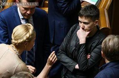 Тимошенко резко раскритиковала Савченко