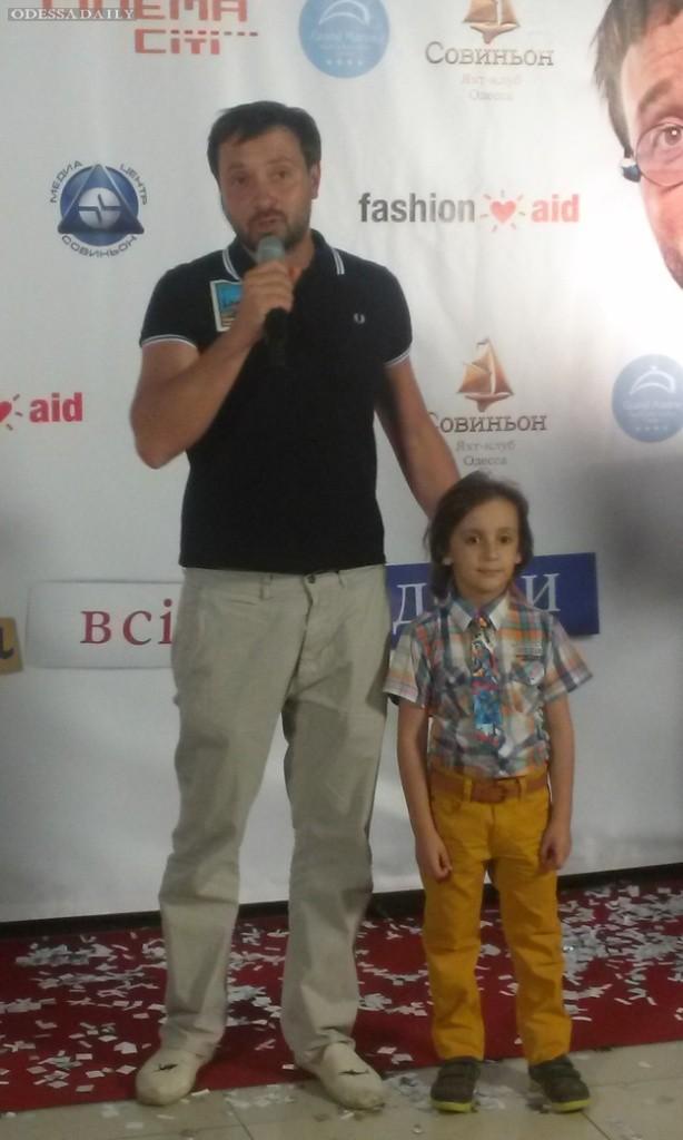 В Одессе устроили благотворительный киносеанс для детей из кризисных семей и ВИЧ- позитивных детей