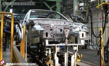 Производство легковых авто в Украине в июне упало на 78%