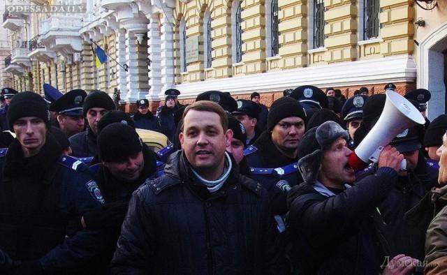 МВД VS Евромайдан год спустя