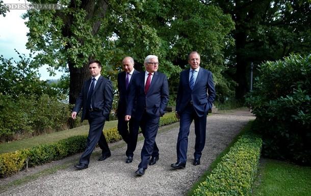 В Берлине завершились четырехсторонние переговоры по Донбассу
