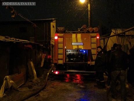 В новогоднюю ночь в Одессе из-за пиротехники сгорели три жилых дома