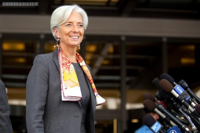 МВФ будет кредитовать Украину даже в случае дефолта – Лагард